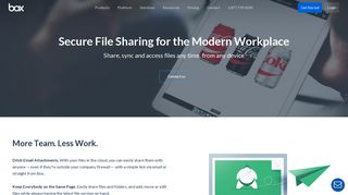 Secure File Sharing and Synchronization | Box US