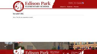 Parent Portal - Chicago - Edison Park Elementary School