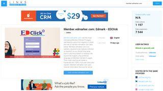 Visit Member.edmarker.com - Edmark - EDClick.