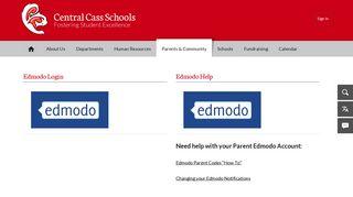 Edmodo Login / Edmodo - Central Cass Schools