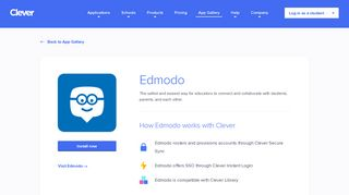 Edmodo - Clever application gallery | Clever
