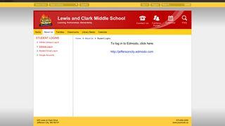 Student Logins / Edmodo Log-in - Jefferson City Public Schools