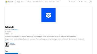 Get Edmodo - Microsoft Store