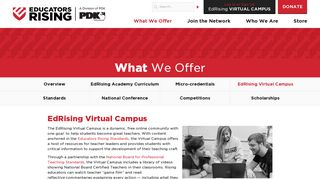 EdRising Virtual Campus | Educators Rising