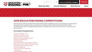 Guidelines and Rubrics | Educators Rising
