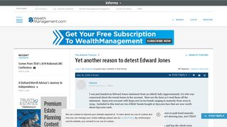 Yet another reason to detest Edward Jones | Wealth Management