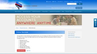 EECU Credit Union - Online Services