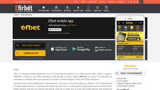 Efbet Mobile App – Download and Install apk file for Android & iOS ...