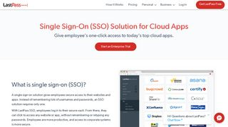 LastPass - Single Sign-On for efiliale.de | LastPass Enterprise