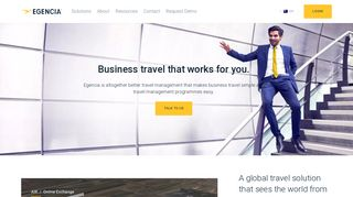 Business Travel Services & Travel Management Solutions - Egencia ...