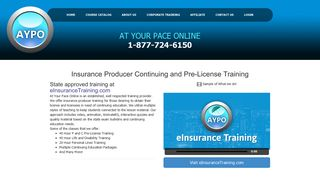 At Your Pace Online Insurance Education