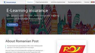 E-Learning insurance - E-insurance