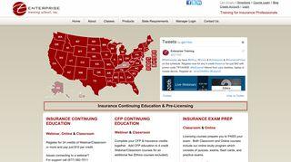 Online Insurance CE Training Courses | Enterprise