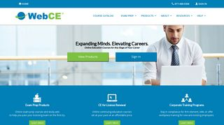 WebCE: Continuing Education | CE & CPE | Training