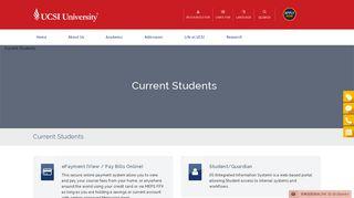 Current Students - UCSI University
