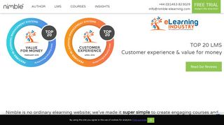elearning software   elearning platform   Nimble Author & LMS