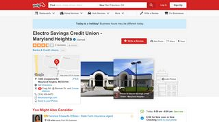 Electro Savings Credit Union - Maryland Heights - Banks & Credit ...