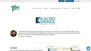 Case Study — Electro Savings Credit Union - MarketVolt - Email ...
