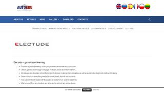 Electude - Automotivetrainingequipment