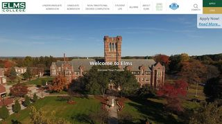 Elms College: Home