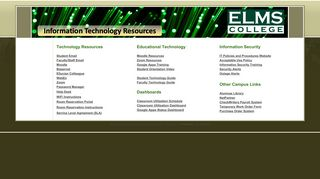 Information Technology Services - Google Sites
