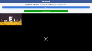 Cafe Elstar - Home | Facebook