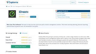 Elvanto Reviews and Pricing - 2019 - Capterra