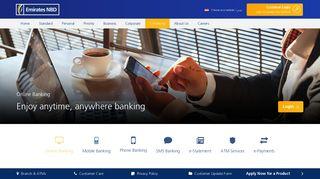 Online Banking - Emirates NBD Egypt