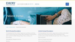 Emory Healthcare Patient Portal - Atlanta, GA - Emory Healthcare