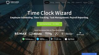 Time Clock Wizard - Free Online Time Clock & Employee Scheduling