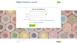 Login as an Employer - Log In - Childcare by Sodexo