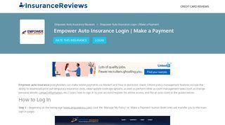 Empower Auto Insurance Login   Make a Payment - Insurance Reviews