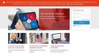 Empower Retirement - Plan Service Center