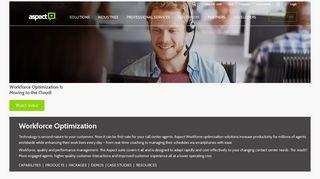 Workforce Optimization   Aspect - Aspect Software