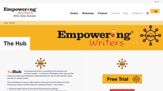 The Hub - Empowering Writers