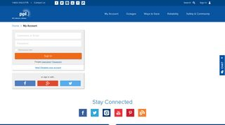 Login - PPL Electric Utilities