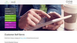 Customer Self Serve | Alectra Utilities - Enersource