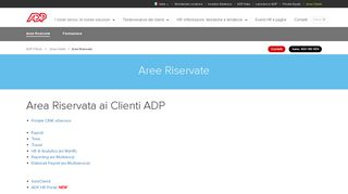 ADP Italia - Aree Riservate