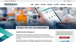 ENTOUCH For Facilities Management - EnTouch Controls