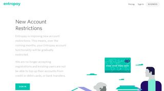 Entropay | Instant money transfers and virtual cards