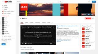 E.ON SE - YouTube
