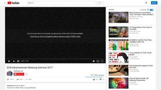 EON Advertisement Werbung Sommer 2017 - YouTube