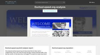 Eschool Epasd. Sapphire Software - Popular Website Reviews