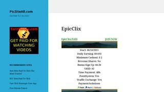 EpicClix – PtcSiteAll.com