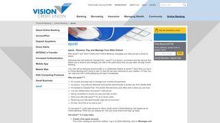 Vision Credit Union - epost