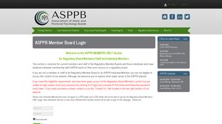 here - The Association of State and Provincial Psychology Boards