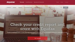 Credit Report, Credit History, Equifax Score   Equifax AU (Prev. Veda)
