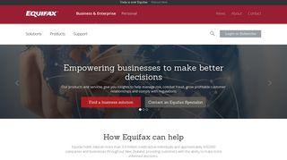Equifax NZ: Credit Reporting, Credit Risk & Analytics