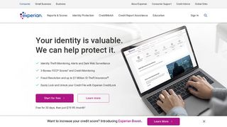 Experian: Check Your Credit Report & FICO® Score