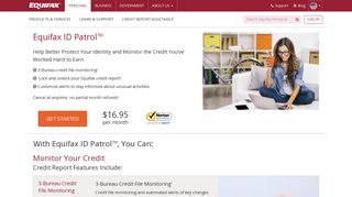 Credit Monitoring & Identity Theft Protection | Equifax